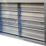 volume control dampers in kitchen exhaust system